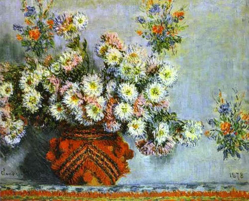 _Chrysanthemums_Claude Monet