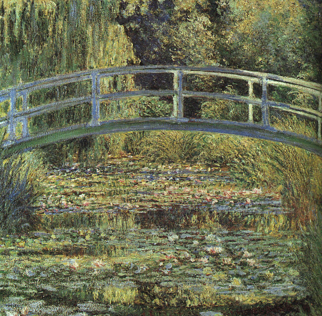 _Monet - The Waterlily Pond_