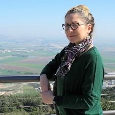 """Надя Гринберг, ведущая """"Хроникуса"""""""