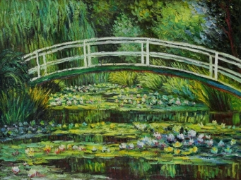01_Monet - The Waterlily Pond_2