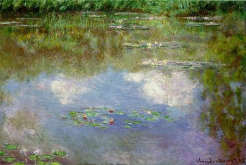 01_Monet - Water Lilies (The Clouds_