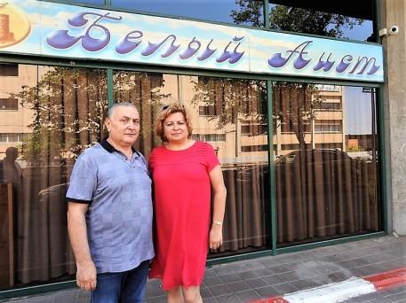 Аркадий Хаит и Габриэла Морару